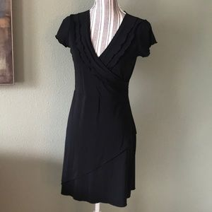 Gap stretch little black dress